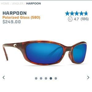 Costa HARPOON HR 10 Polarized Glass (580)